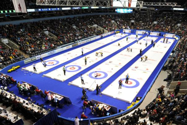 2011.Tim Hortons Brier.Canadian Men's Curling Championship.