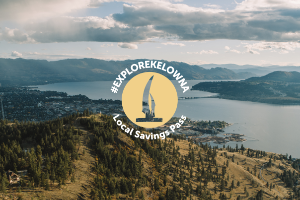 #exploreKelowna Local Savings Pass Header Image