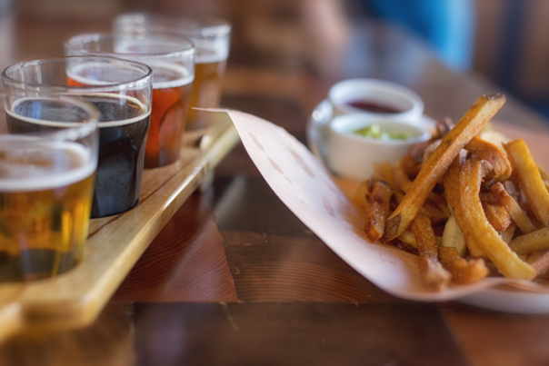 micro bar bites | Beer & Fries