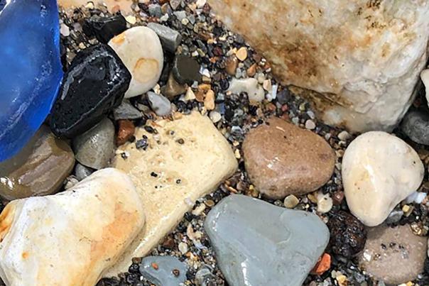 Lake Michigan Beach Glass