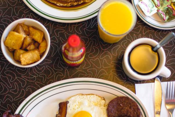 Hub City Diner Breakfast