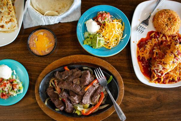 Azteca's Food Spread