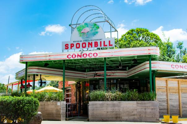 Spoonbill Watering Hole Exterior