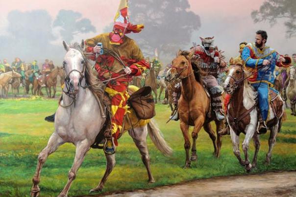 Herb Roe Courir de Mardi Gras