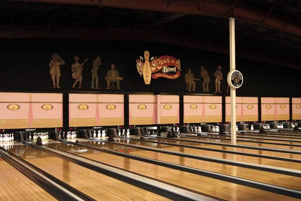 Open lanes at Rock n' Bowl in Lafayette, LA