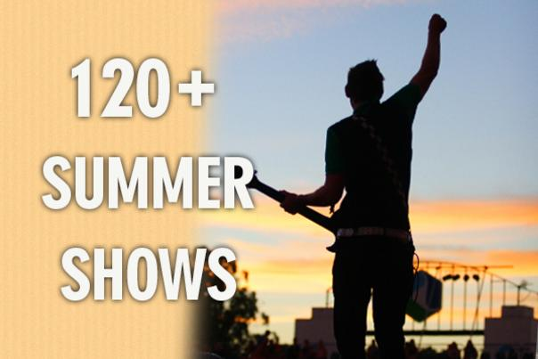 120+ Summer Shows
