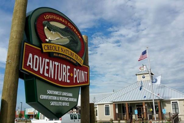 adventure point sign