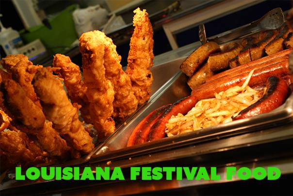 Louisiana Festival Food