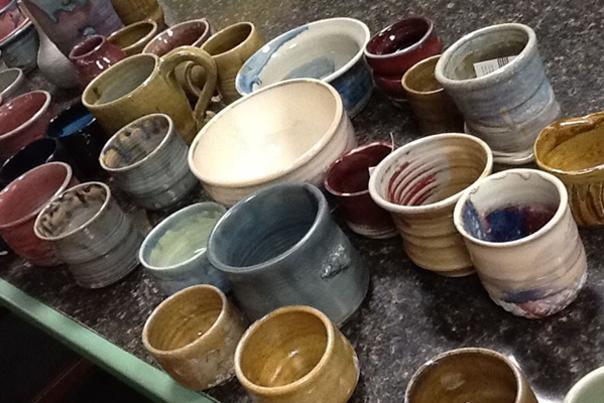 Rex Alexander pottery