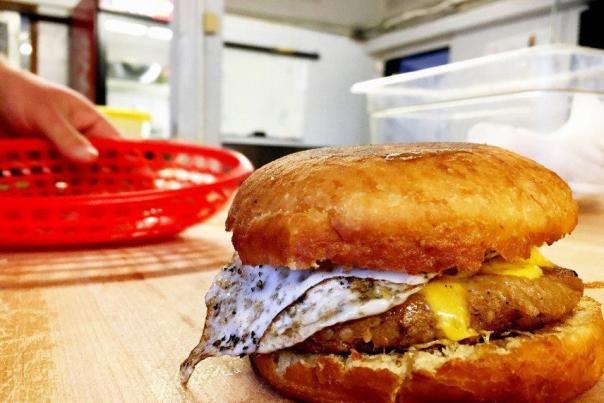 Boudin Sandwich