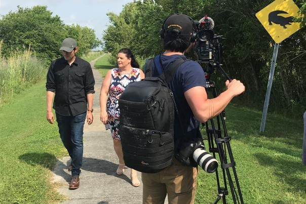CBS on the Creole Nature Trail