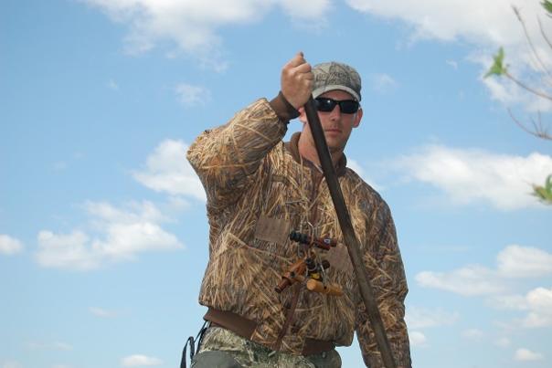 Canaan Heard duck hunting