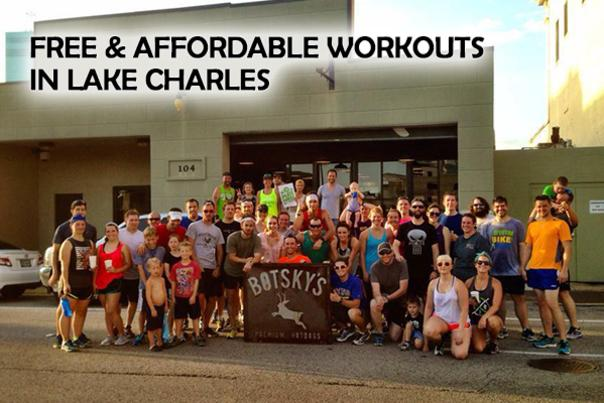Free & Affordable Workouts in Lake Charles