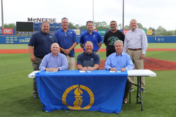 McNeese and CVB CEA Signing
