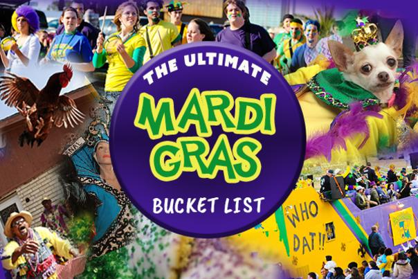 Mardi Gras Bucket List