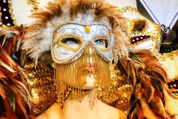 Mardi Gras Museum | Masked Lady