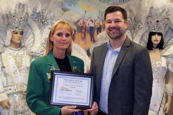 STS Top 20 Mardi Gras Award