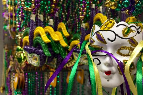 Mardi Gras Lady Mask