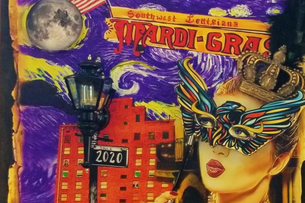 2020 Mardi Gras Poster by Candice Alexander