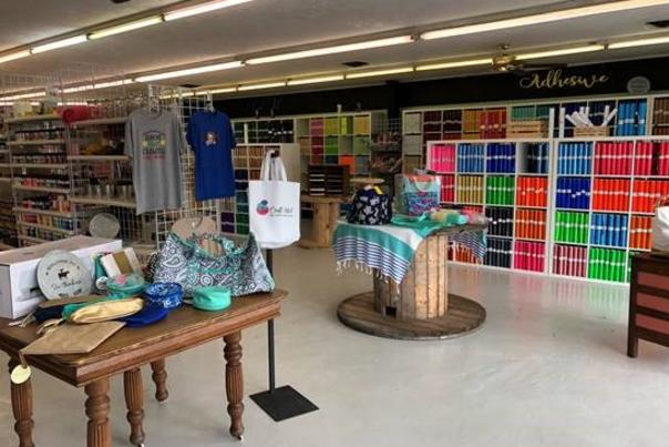 Craft Addict T-shirts in Sulphur