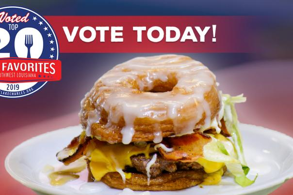 Top 20 Restaurant Voting Facebook Image