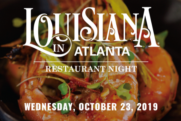 Louisiana in Atlanta Restaurant Night 2019