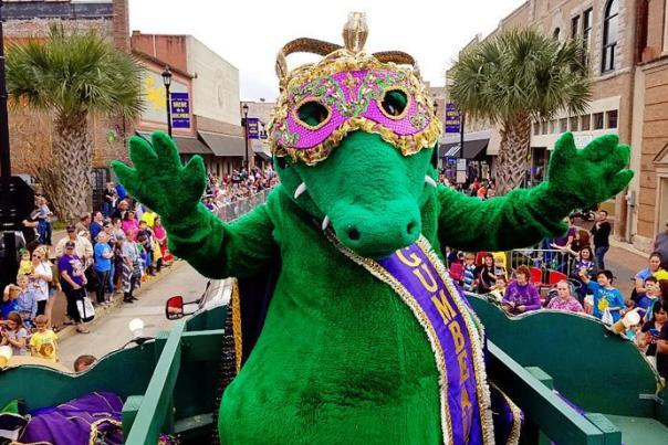 Gumbeaux Gator 2017 Mardi Gras