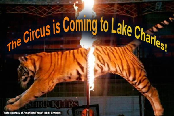 Circus is coming to Lake Charles