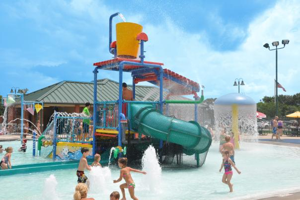 Spar Aquatic Center Kids Playground