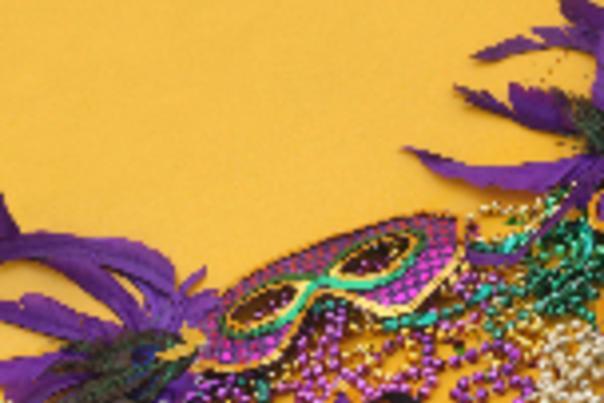 Mardi Gras Nav-Mask