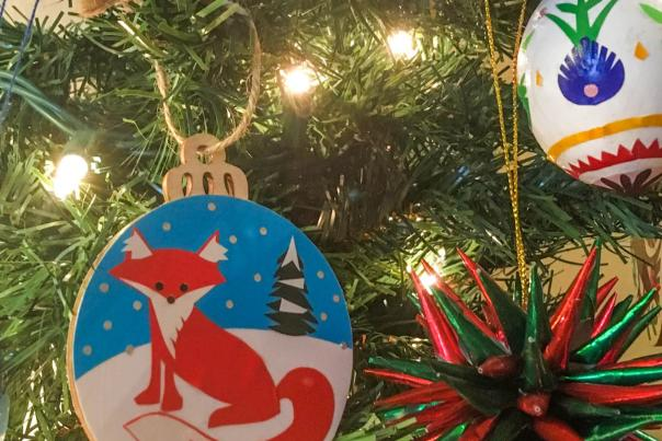 Sparrow Papercrafts ornaments