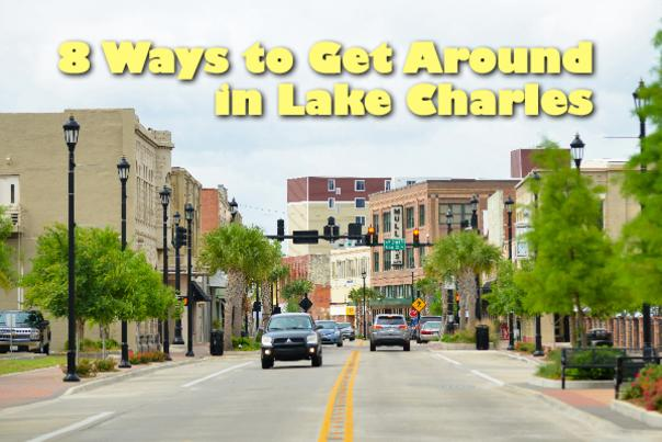 Transportation in Lake Charles