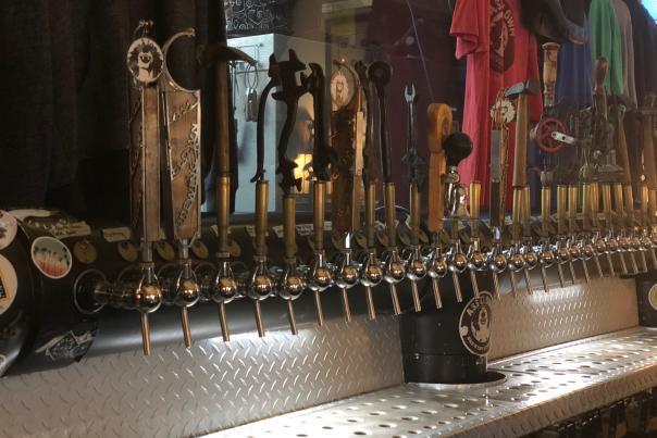 Ass Clown Brewery taps