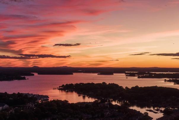 Aerial Lake Norman