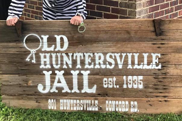 Old Huntersville Jail