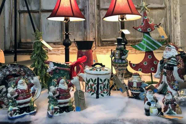 Christmas Shopping Blog Header