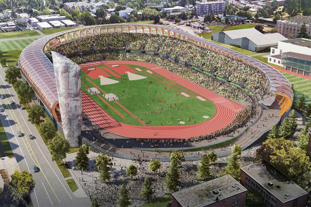 Hayward Field at University of Oregon