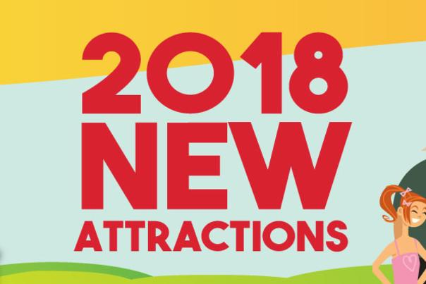 2018 New Attractions