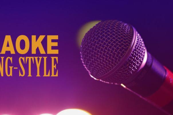 Karaoke blog header
