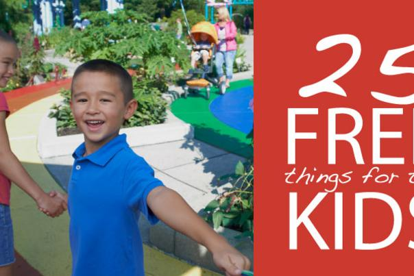 25 Free Things for the Kids