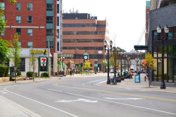 Downtown East Lansing 2020