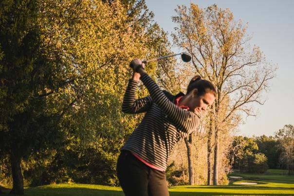 james Lenon Woman golf