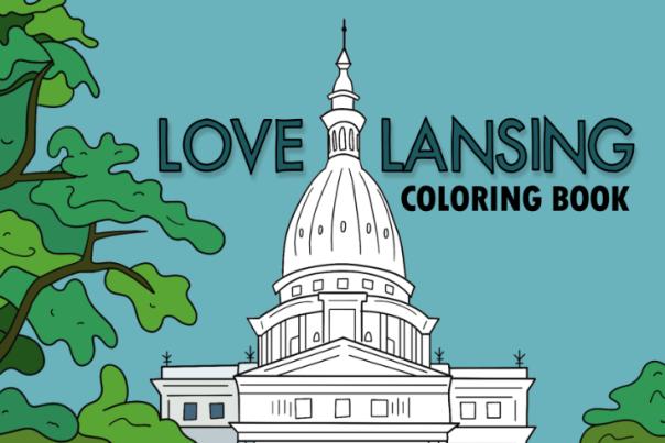 Love Lansing Coloring Book
