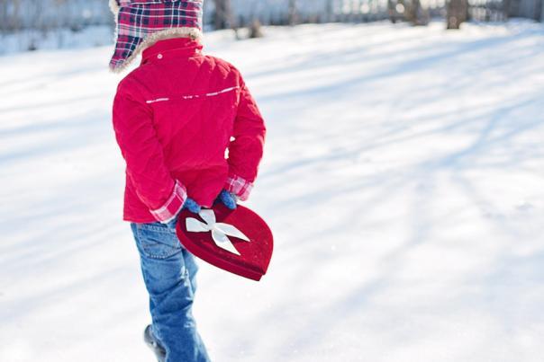 Valentine - Gift - Snow