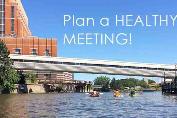 healthy meeting banner
