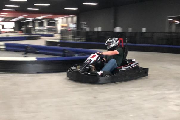 Racing Cart at High Caliber Karting