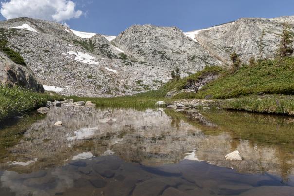 Snowy Range Reflection