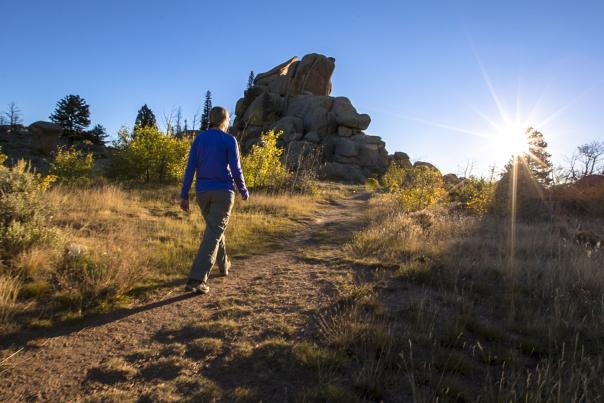 fall hiking laramie