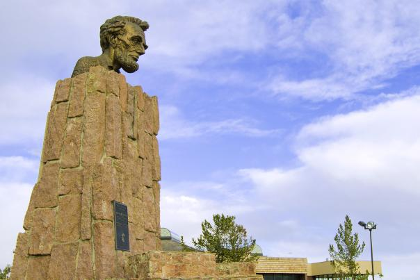 Abraham Lincoln Memorial Monument Sherman Summit Lincoln Highway
