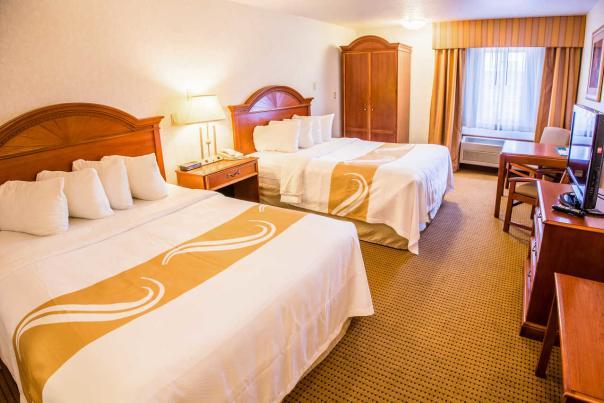 Quality Inn room